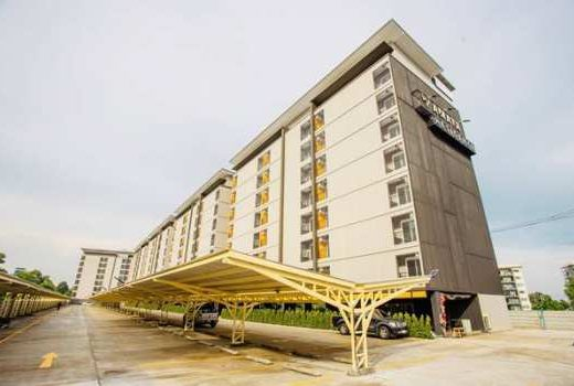 Amata Residence อพาร์ทเม้นท์ให้เช่า หอพัก ห้องเช่ารายเดือน สไตล์คอนโด บ่อวิน อำเภอศรีราชา ชลบุรี